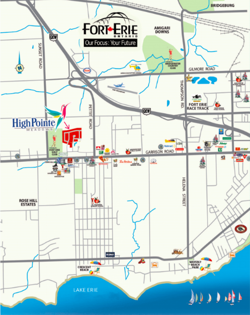 Fort-Erie-Location